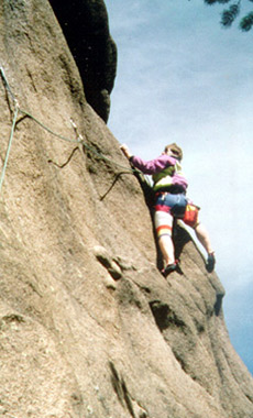 Rock Climbing  in Montana and Yellowstone National Park