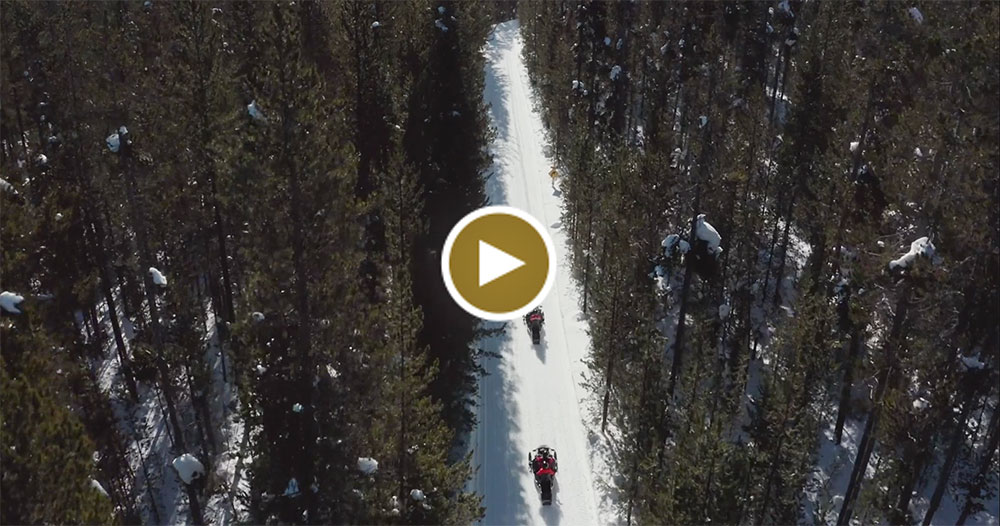 Winter Video in Yellowstone Country, Montana and Yellowstone National Park.